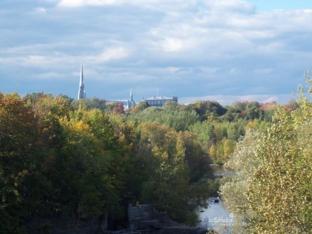 Vue de la ville de Rivière-du-Loup (Auteur : Source : Ville de Rivière-du-Loup)
